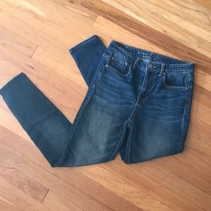 Aeropostale High Waisted Leggings 6Short